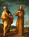 Carracci, Lodovico - Saints Peter and Francis of Assisi - Google Art Project.jpg