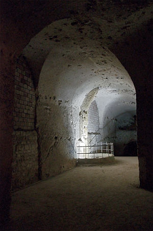 Chalk - Former underground chalk mine in Meudon, France