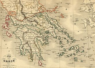 House of Wittelsbach - Greece in 1843 after independence.