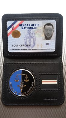 Carte Professionnelle Police Nationale.Section De Recherches Gendarmerie Nationale Wikipedia