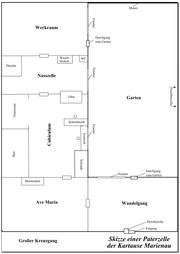 Carthusian cloister monks cell (Marienau) 2006-01-06