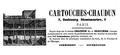 Cartouches-Chaudun 7 faubourg Montmartre Paris.png
