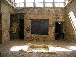 Casa sannitica wikipedia for La casa aperta del piano progetta una storia