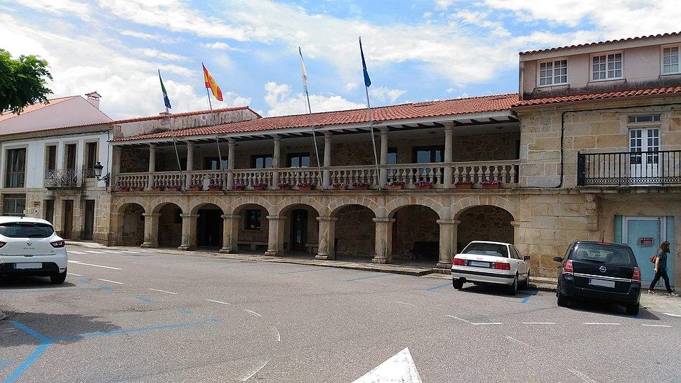 Casa do concello de O Rosal