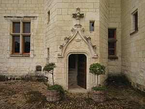 Château du Rivau - Image: Castle Rivau Entrance