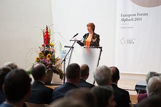 European Forum Alpbach - Catherine Ashton at the Political Symposium 2014