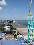 Cedar Point beach looking towards Hotel Breakers.jpg