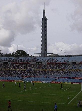 Estadio Centenario - Olympic Tribune