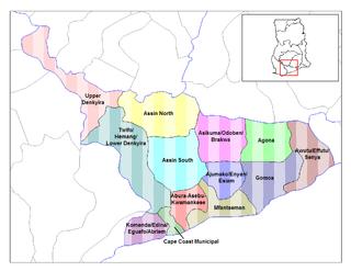 Awutu/Effutu/Senya District Former District in Central Region, Ghana