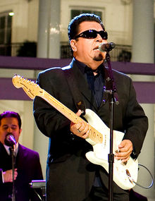 Cesar Rosas performing at the White House , 2009