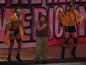 Dutch Mantel - Mantel with The Real Americans, Antonio Cesaro and Jack Swagger.