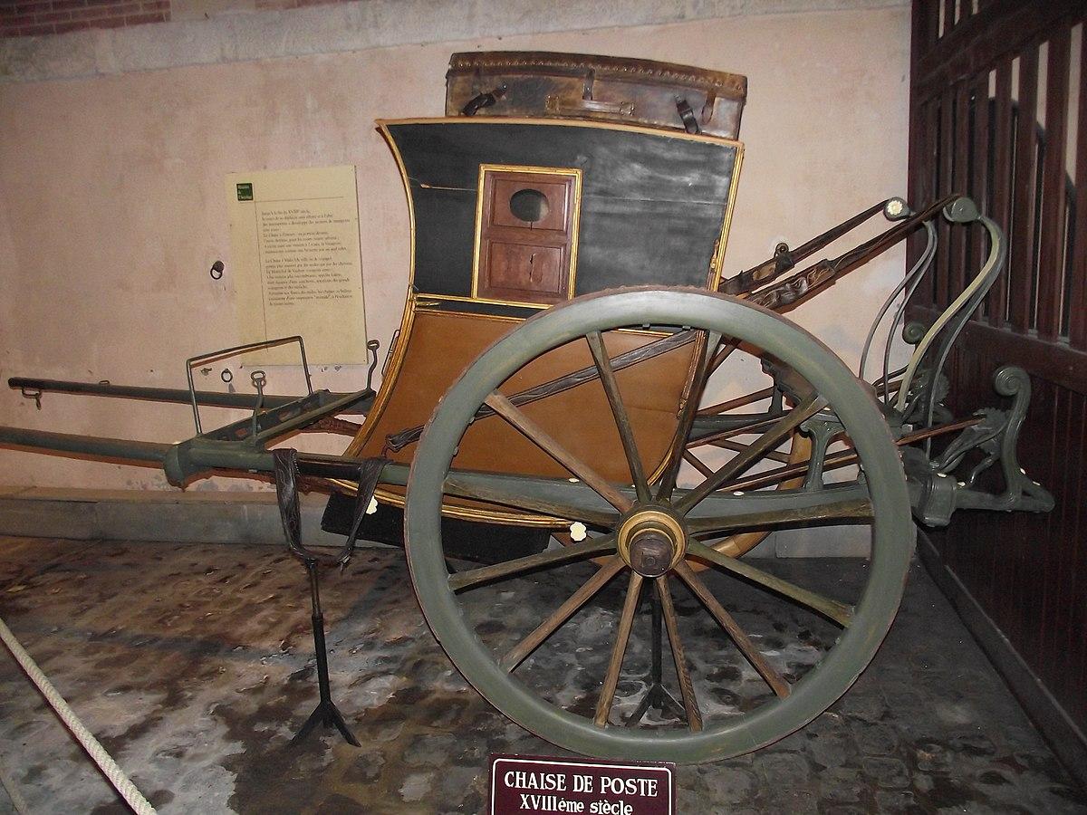 chaise de poste wikipdia - Chaise De