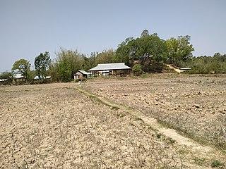 Chajing Khunou Village in Manipur, India