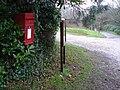 Chalbury, postbox No. BH21 168 - geograph.org.uk - 1064587.jpg