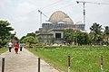 Chandrodaya Mandir Under Construction - Temple Of Vedic Planetarium - ISKCON Campus - Mayapur - Nadia 2017-08-15 1993.JPG