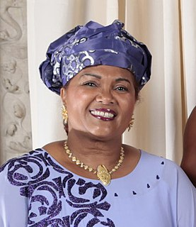 Chantal Compaoré former first lady of Burkina Faso