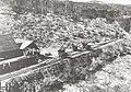Charbonnage de la Sakoa. Evacuation du charbon. Wagonnets sur une voie Decauville.jpg