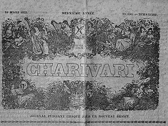 Charles Philipon - Page de titre du Charivari, 1833