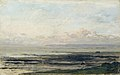 Charles-François Daubigny - Strand bij eb.jpg