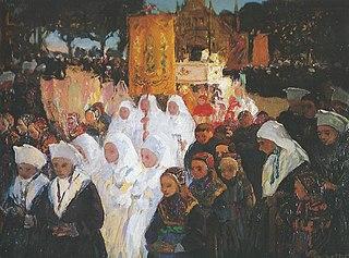 Jour de Fête-Dieu à Plougastel
