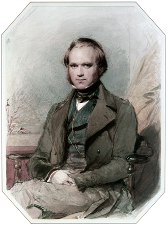 Struggle for existence - Image: Charles Darwin by G. Richmond