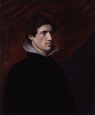 William Hazlitt - Portrait of Charles Lamb by William Hazlitt, 1804
