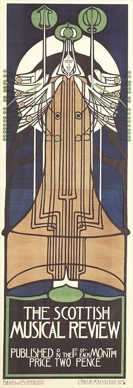 Charles Rennie Mackintosh - Scottish Musical Review 1896