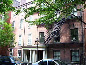 Charles Sumner House - Image: Charles Sumner House Boston Massachusetts