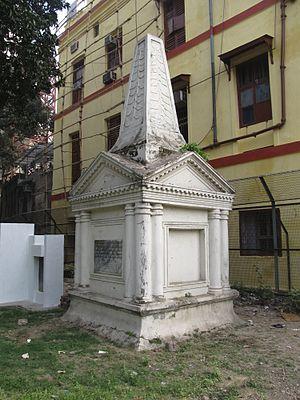 Charles Watson (Royal Navy officer) - The tomb of Charles Watson at St. John's Churchyard, Kolkata, India.