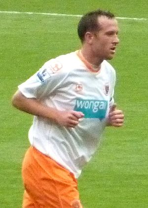 Charlie Adam - Adam during Blackpool's 2010–11 Premier League campaign.