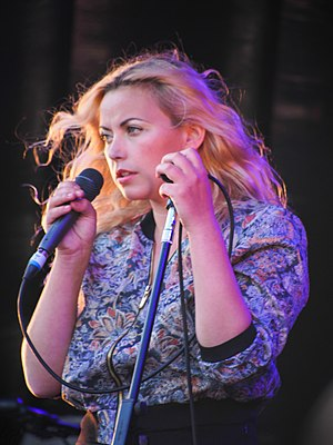Charlotte Church - Church performing at the Victorious festival in 2013
