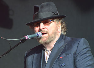 Chas Hodges - Chas Hodges at Let's Rock Bristol June 2015.  Photograph by Andrew D. Hurley.