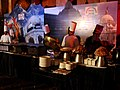 Chefs at the launch party of the BBC Indian Election Express (3534930573).jpg