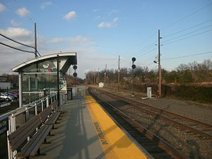 Atlantic City Line - Cherry Hill was opened in 1994; it briefly served Amtrak trains as well as NJ Transit