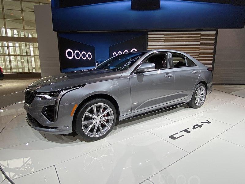 File:Chicago Auto Show 2020. Cadillac CT4 V.jpg