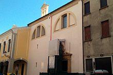 Padova: chiesa della Beata Elena, luogo di sepoltura del Ramazzini