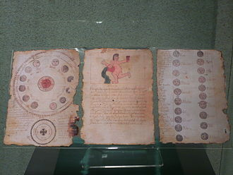 Chilam Balam - Copy of the Book of Chilam Balam of Ixil in the National Museum of Anthropology, Mexico