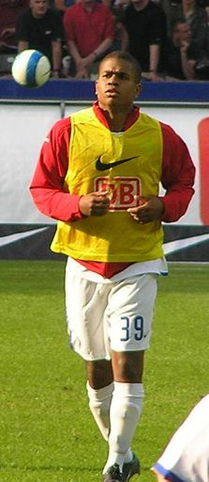 Chinedu Ede - Chinedu Ede training with Hertha BSC in 2007