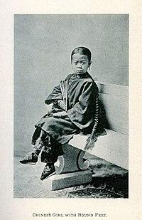 Chinees Houten T Rond.Lotusvoetjes Wikipedia