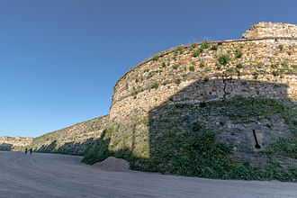 Chios (town) - Image: Chios Genoese Castle Walls 1