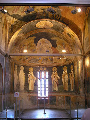 Parecclesion - The parecclesion of Chora Church in Istanbul