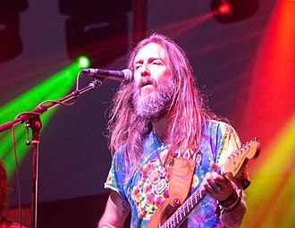 Chris Robinson (singer) - Robinson performing with the Chris Robinson Brotherhood at the Kitchener Blues Festival in 2018