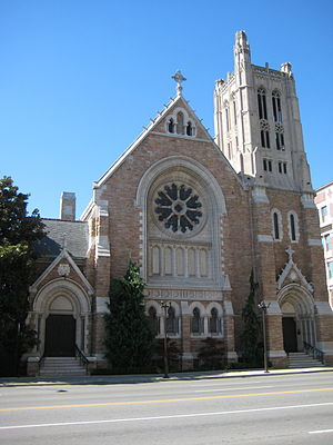 Christ Church Cathedral (Nashville, Tennessee) - Image: Christ Church Cathedral, Nashville