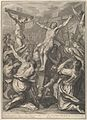 Christ on Raised on the Cross, from The Passion of Christ, plate 19 MET DP835959.jpg