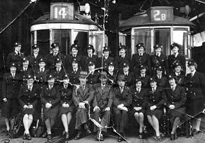 Christchurch tramway system - Photo taken circa 1942