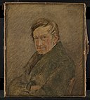 Christen Købke - Portrait of the Animal Painter C.D. Gebauer - KMS3410 - Statens Museum for Kunst.jpg