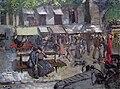 Christian Krohg - Scene from a Street in Paris - Gatescene, Paris - Nasjonalmuseet - NG.M.03486.jpg