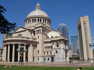 Church of Christ, Scientist - Image: Christian Science Mother Church, Boston, Massachusetts