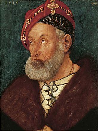 Christoph I, Margrave of Baden-Baden - Christoph of Baden-Baden by Hans Baldung, 1515