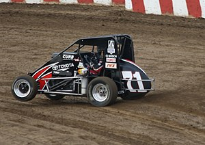 Christopher Bell (racing driver) - Bell's USAC midget at Angell Park Speedway in 2013